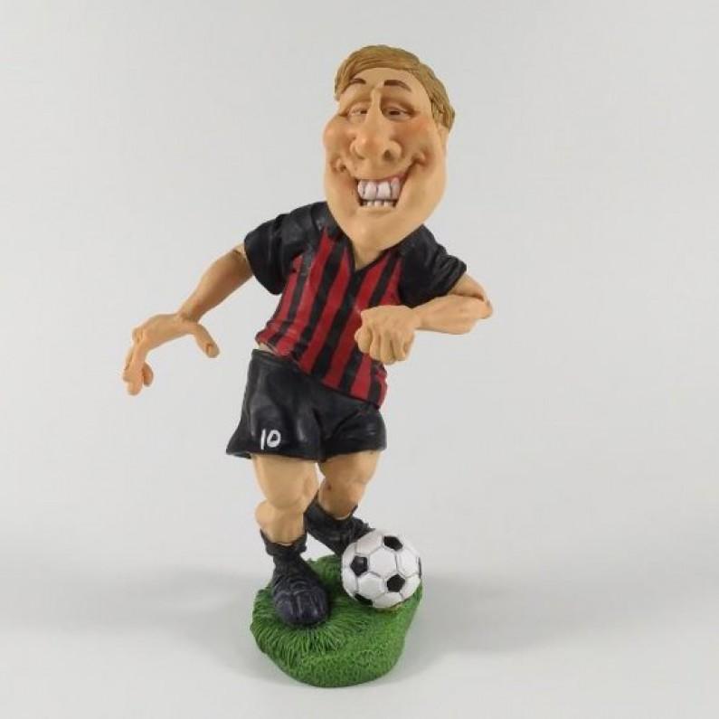 Beroepen  sport  beeldje  voetballer  AC Milan  Warren Stratford