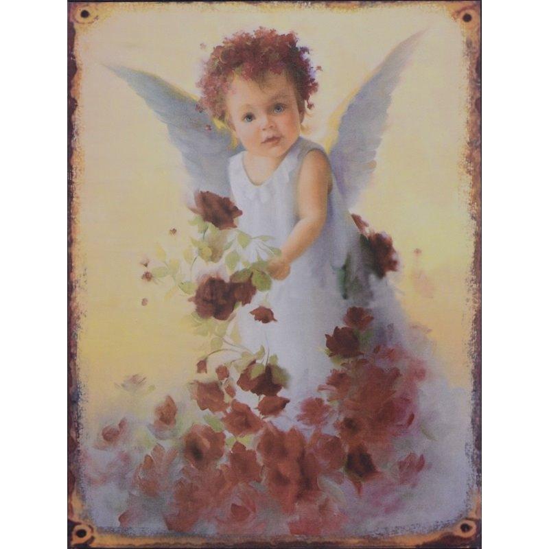 Kind met witte duif decoratie bordje - Decoratie kind ...